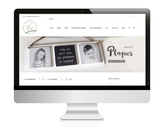 E-Commerce and Shop Website