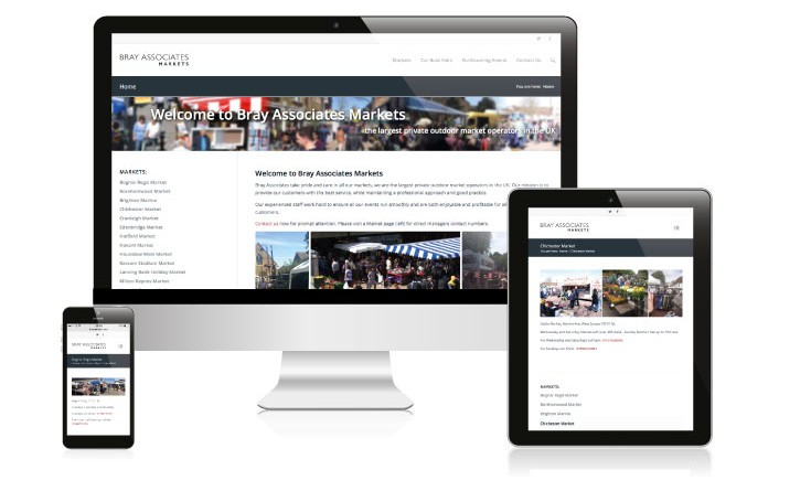 website design bray markets