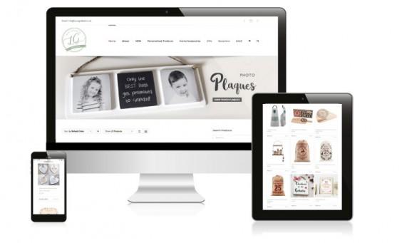 website design for laura godbold
